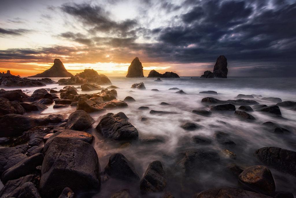 seascape photography - Ciclopi Island