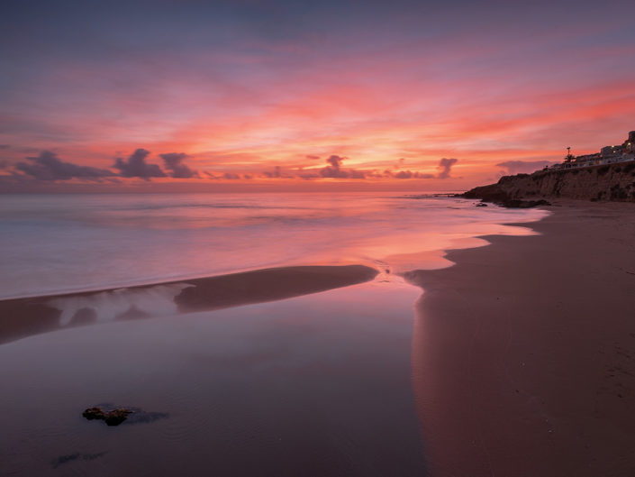 seascape photography-Sunset in Selinunte