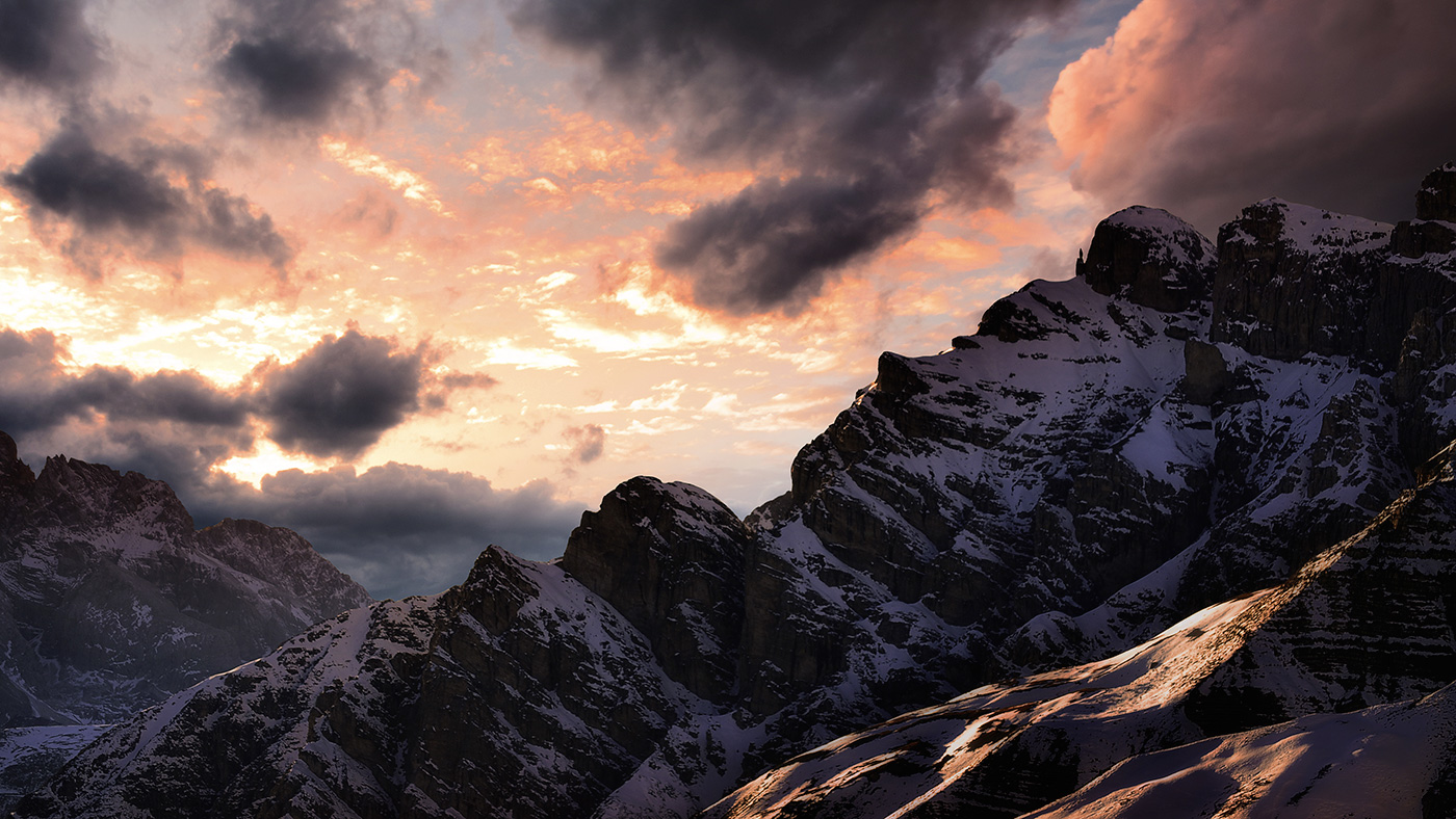 landscape photography the Dolomiti